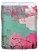 Sage String Duvet Cover