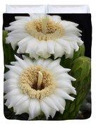 Saguaro Blooms II Duvet Cover