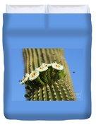 Saguaro Cactus Flower 8 Duvet Cover