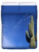 Saguaro Cactus H Duvet Cover