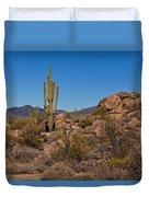Saguaro Century Duvet Cover