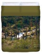 Saguaro Creek Duvet Cover