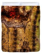 Saguaro Detail No. 18 Duvet Cover
