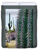 Saguaro National Park Portrait Duvet Cover