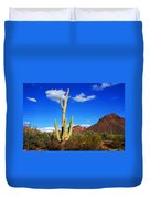 Saguaro Tree Duvet Cover