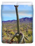 Saguaro With Down Twist Duvet Cover
