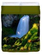Sahalie Falls Duvet Cover