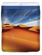Sahara Desert, Algeria Duvet Cover