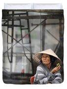 Saigon Lady Duvet Cover
