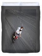 Saigon Wires Duvet Cover