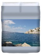 Sail Away To Hydra Duvet Cover
