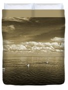 Sail Boats 1 Duvet Cover