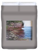 Sail Into The Light Duvet Cover by Jan Byington