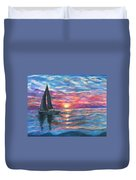 Sail On And Fly Like The Wind Duvet Cover by The Art With A Heart By Charlotte Phillips