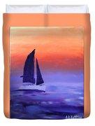 Sailboat Large 2015 Duvet Cover