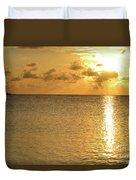 Sailboat On The Horizon 3 Duvet Cover