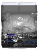 Sailboat Series 14 Duvet Cover