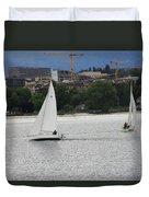 Sailboats Duvet Cover