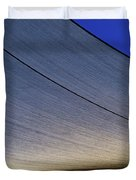 Sailcloth Abstract Times Two Duvet Cover