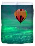 Sailing Above The Storm Duvet Cover