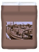 Sailing Anyone Duvet Cover