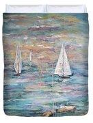 Sailing Away 1 Duvet Cover