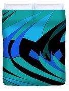 Sailing Blue - Left Duvet Cover