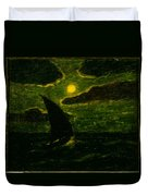 Sailing By Moonlight Duvet Cover