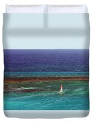 Sailing Day Duvet Cover by Karen Zuk Rosenblatt