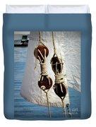 Sailing Dories 2 Duvet Cover