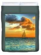 Sailing Free Duvet Cover
