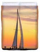 Sailing In Duvet Cover