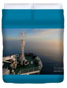 Sailing Into The Unknown... Duvet Cover