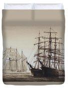 Sailing Ships Duvet Cover