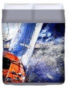 Sailing Souls Duvet Cover