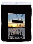 Sailing Summers Duvet Cover