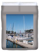 Sailing To The Golden Gate Duvet Cover