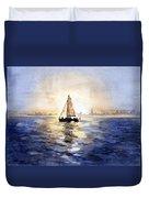 Sailor Eclipse Duvet Cover