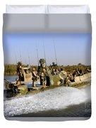 Sailors Racing Along The Euphrates Duvet Cover