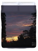 Sailors Take Warning Duvet Cover
