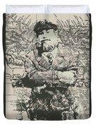 Sailors Vintage Adventure Duvet Cover
