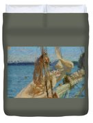 Sails And Ropes Duvet Cover
