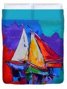 Sails Colors Duvet Cover
