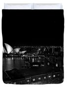 Sails In The Night Duvet Cover