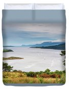 Sails On The Kyles Of Bute Duvet Cover