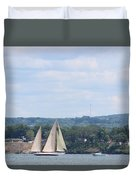 Sails Up Duvet Cover