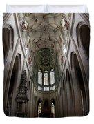 Saint Barbara's Church, Kutna Hora Duvet Cover
