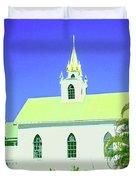 Saint Benedict Duvet Cover