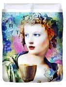 Saint Cecilia Risen Duvet Cover