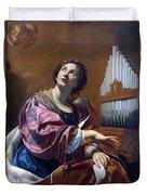 Saint Cecilia Duvet Cover